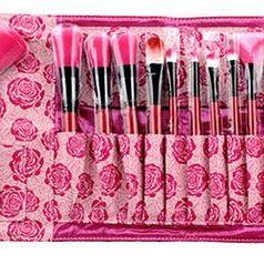 Professional 18 Piece Pink Rose Cos..
