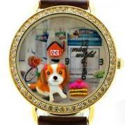 Adorable Cavalier King Charles Spaniel Polymer Clay Handmade Watch