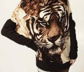 Long Tiger Sweatshir..